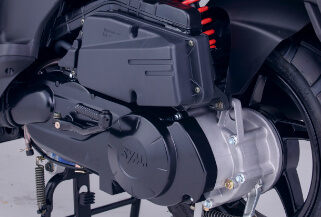 Característica Dynamic K 125 motor
